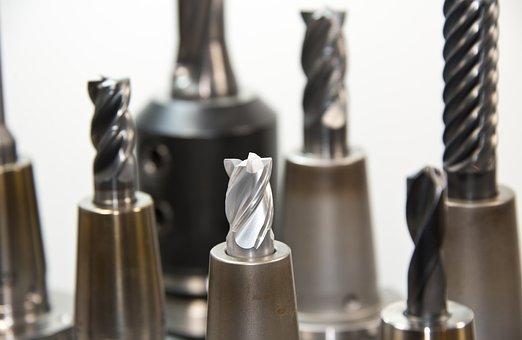 Metal, Drill, Carbide Drill Bit, Milling
