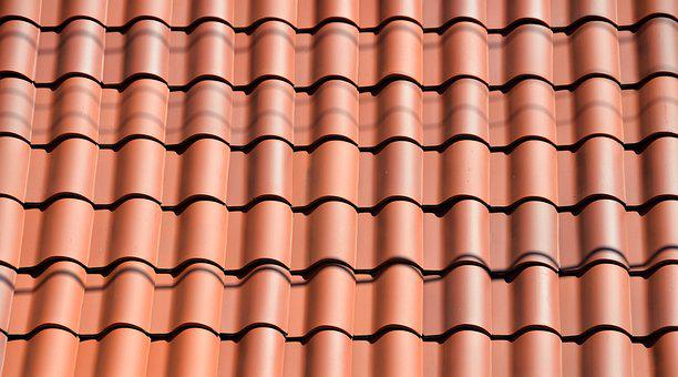 Clay Tile, Roof, Background, Architecture, Design