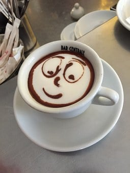 Cappuccino, Latte Art, Latte, Cup, Cafe, Coffee, Hot