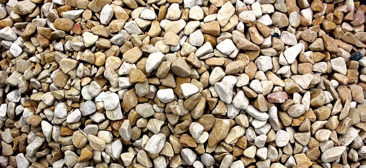 Gravel, Construction, Material, Pebble, Stone, Gray