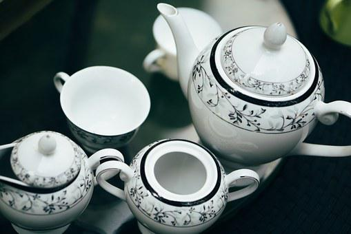 Crockery, Dishes, Tableware, Cup, Can, Milk, Tea