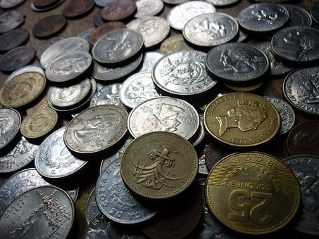 Coins, Money, Finance, Cents, Cash, Bank, Currency