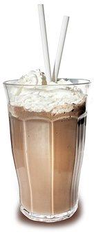 Milkshake, Milk, Dairy, Drink, Glass, Cream, Straw