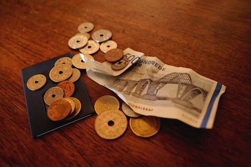 Money, Danish Kroner, Danish Ears, Banking Business