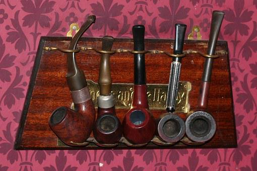 Pipe, Smoking, Unhealthy, Vice, Detective