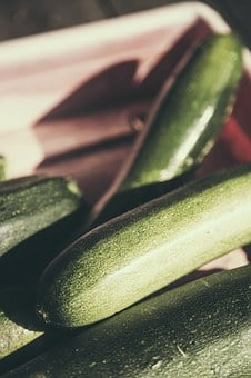 Zucchini, Vegetables, Cultivation, Green, Eat, Food