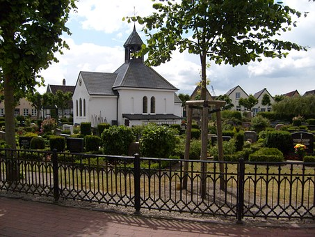 Schleswig, Holm, Church, Cemetery, Fishing Village