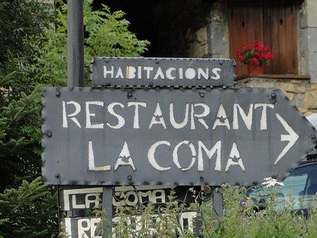Coma Drink, Funny, Restaurant, Shield, Advertising