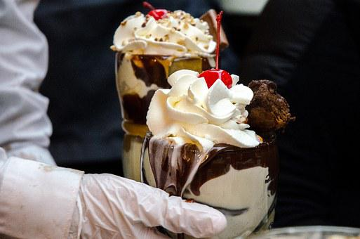 Ghirardelli, Ice Cream, Chocolate, Food, Dessert, Cold