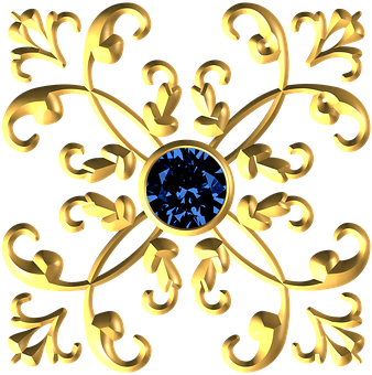 Gold, Metallic, Decorative, Royal, Ornament, Flourish