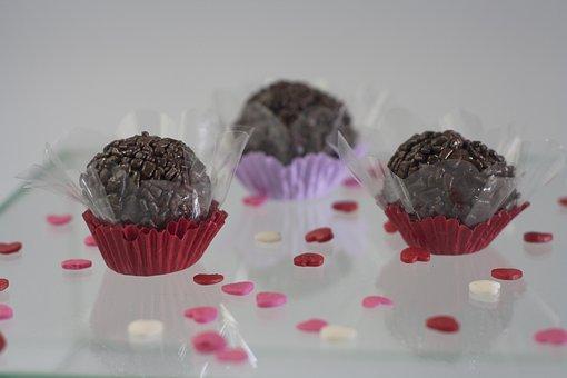 Brigadier, Sweet, Chocolate, Party, Birthday, Goodies