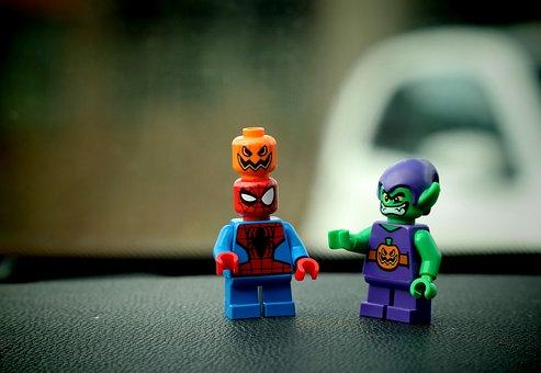 Lego, Figures, Fig, Toys, Legomaennchen, Close