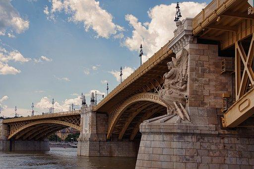 Margaret Bridge, Bridge, Danube Bridge, Budapest