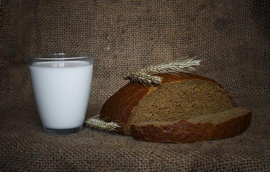 Food, Russia, Russian, Ukraine, Bread, Life, Milk