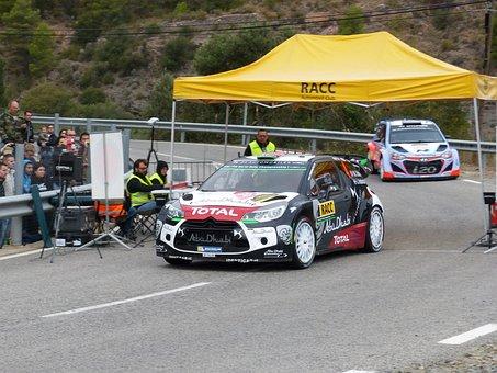 Rally Catalunya, Wrc, Output, Stretch, Control, Citroën