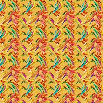 Pattern, Seamless, Floral, Flower, Bird Of Paradise
