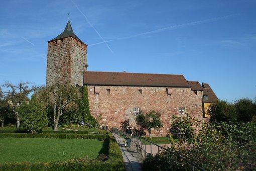 Burg Rothenfels, Place, Bavaria, Nature, Landscape