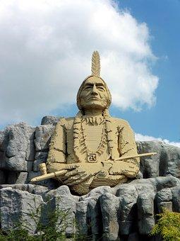 Legoland, Billund, Sitting Bull, Indians, Denmark
