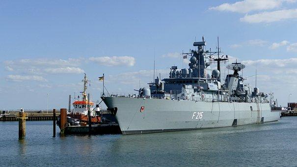 Ship, Warship, Navy, Marina, Port, Military, North Sea