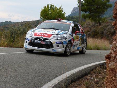 Rally Catalunya, Wrc, Citroën Ds