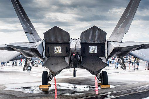 F22, Aircraft, Jet, Military, Speed, Airplane, Airshow