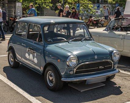 Mini, Bmc, Oldtimer, Mini Cooper, Vehicle, Auto
