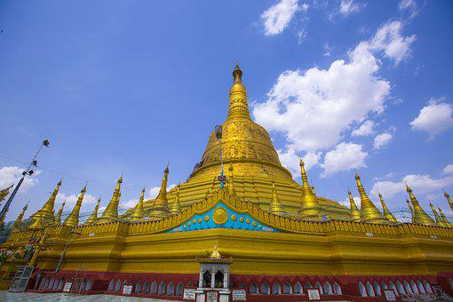 Pagoda, Myanmar, Temple, Amazing, Place, Buddhist