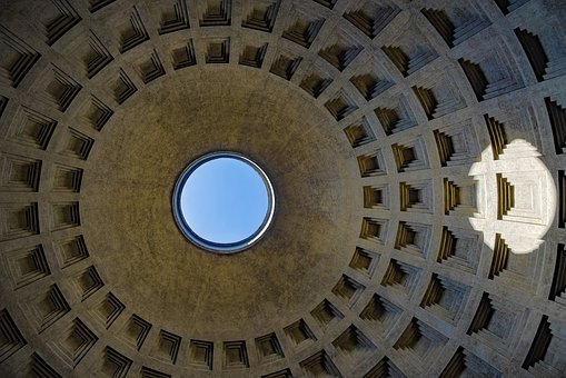 Pantheon, Rome, Italy, Architecture, Building, Historic
