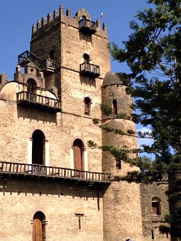Gondar, Ethiopia, Imperial Palace, Castle, Gonder