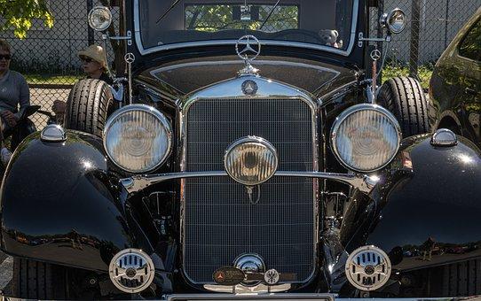 Mercedes, Oldtimer, Auto, Classic, Mercedes Benz
