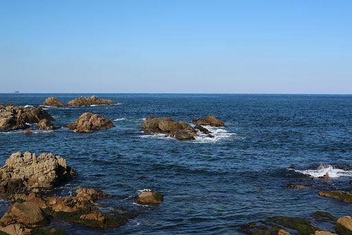 Coastal, Rocky Beach