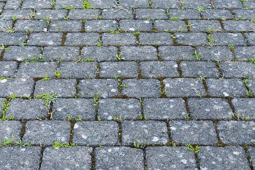 Patch, Flooring, Paving Stones, Parking, Cobblestone