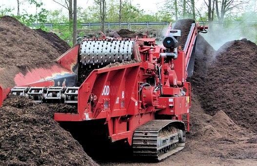 Compost Grinder, Compost, Chipper, Industrial