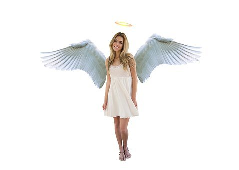 Angel, Cute, Girl, Wing, Protection, Guardian, Faith