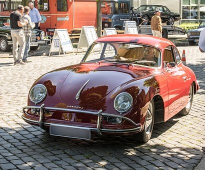 Porsche, Oldtimer, Vehicle, Sports Car, Flitzer