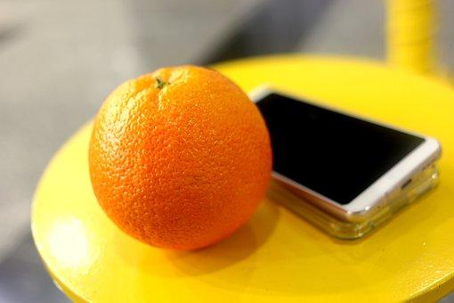 Orange, Fruit, Table, Hp, Yellow