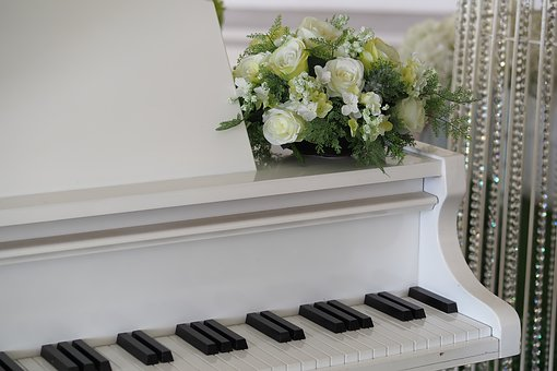 White, Piano, Music, Instrument, Keyboard, Musical