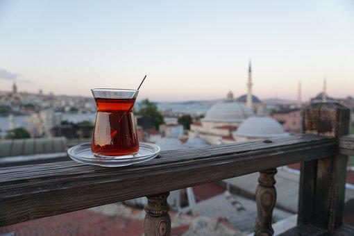 Tea, Istanbul, Landscape, Turkish Tea