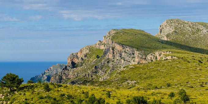 Mountains, Mallorca, Travel, Landscape, Spain, Balearic