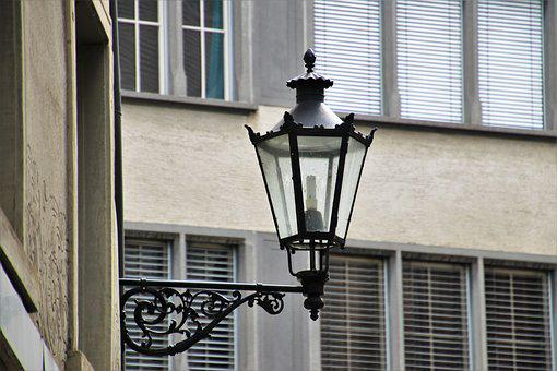 Lantern, Historic, Old, Architecture, Townhouses