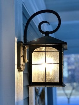 Light, Porch, Welcome, Light On, Porch Light, Home