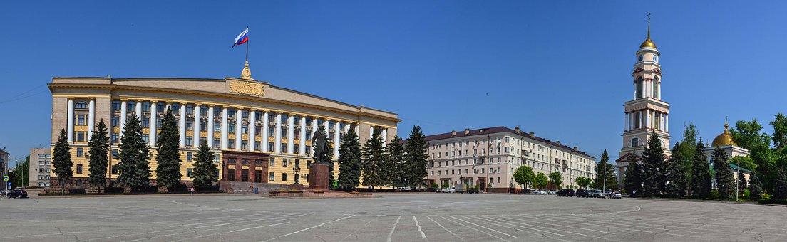Lipetsk, Russia, Cathedral, Lenin, Lipetsk Oblast