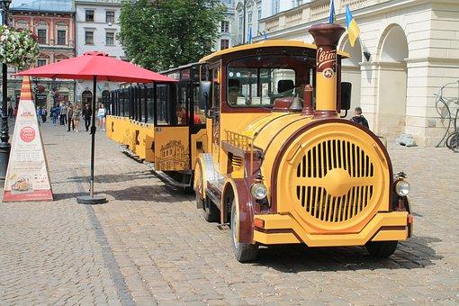 Tram, Excursion, Ukraine, Lviv, Transport