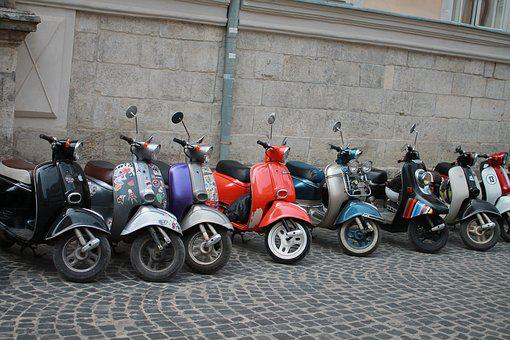 Motorcycles, Means Of Transport, Ukraine, Lviv