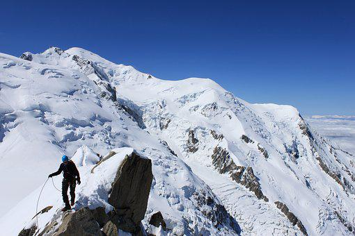 Icecap, Mountain Top, Peaks, Mountain, Landscape