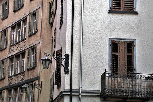 Old Houses, The Window, Balcony, Architecture, Monument