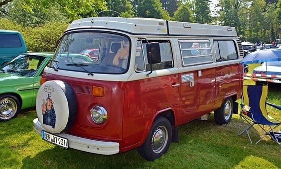 Oldtimer, Vw, Vw Bulli, T2, Vw Bus, Auto, Old, Classic