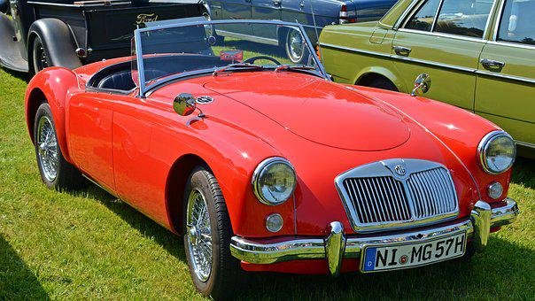 Oldtimer, Mg A, Auto, Old, Classic, Pkw, Old Car