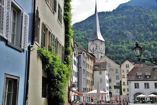 Panorama, The Old Town, Architecture, The Prospect Of