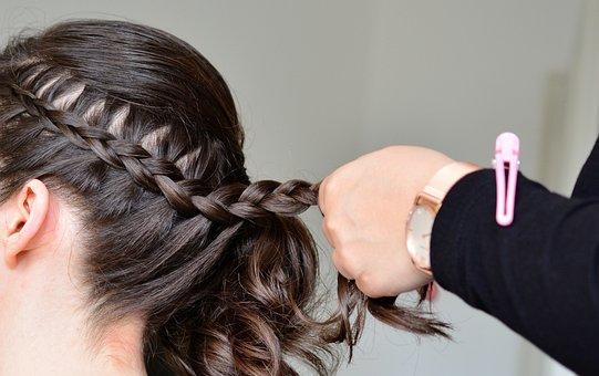 Hair, Braid Hair, Plait, Comb, Weave, Head, Human